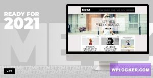 Download free Metz v7.1 – A Fashioned Editorial Magazine Theme