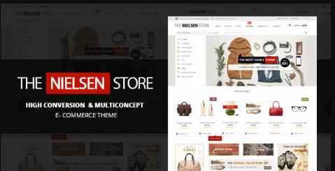 Download free Nielsen v1.9.9 – E-commerce WordPress Theme
