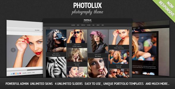 Download free Photolux v2.4.1 – Photography Portfolio WordPress Theme