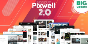Download free Pixwell v5.6 – Modern Magazine WordPress Theme