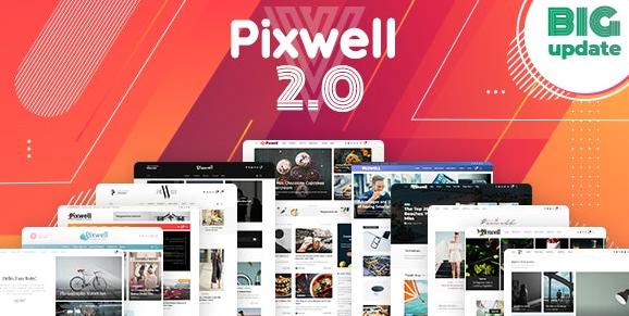 Download free Pixwell v5.6 – Modern Magazine WordPress Theme