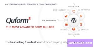 Download free Quform v2.12.1 – WordPress Form Builder