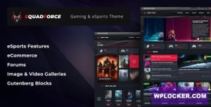 Download free SquadForce v1.1.5 – eSports Gaming WordPress Theme (formerly Good Games)