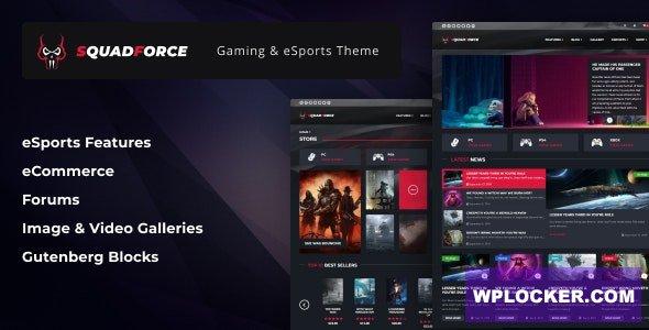 Download free SquadForce v1.1.5 – eSports Gaming WordPress Theme (formerly Good Games)