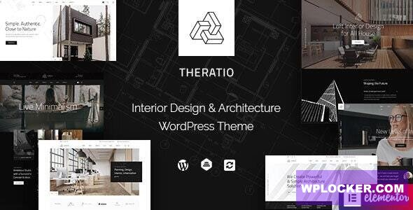 Download free Theratio v1.1.3 – Architecture & Interior Design Elementor