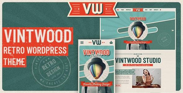 Download free VintWood v1.0.7 – a Vintage, Retro WordPress Theme