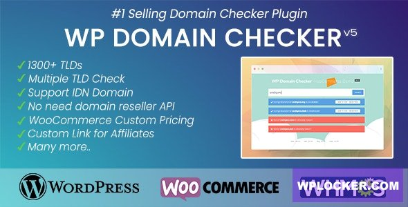 Download free WP Domain Checker v5.0.4