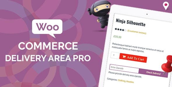 Download free WooCommerce Delivery Area Pro v2.1.5