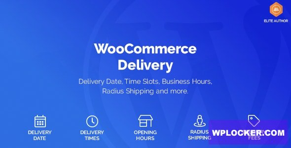 Download free WooCommerce Delivery v1.0.21 – Delivery Date & Time Slots