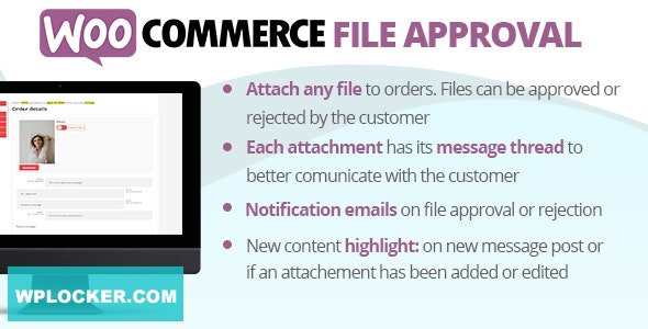 Download free WooCommerce File Approval v1.2.2