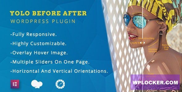 Download free Yolo Before After v1.0.3 – Multipurpose Before After Image Slider for WordPress