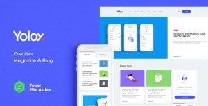 Download free Yolox v1.0.4 – Modern WordPress Blog Theme for Business & Startup