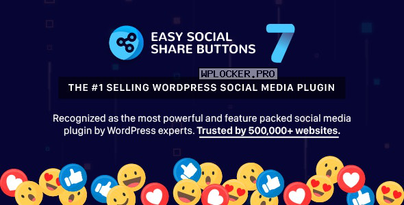 Easy Social Share Buttons for WordPress v7.4