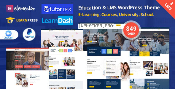 Edubin v6.3.9 – Education LMS WordPress Theme