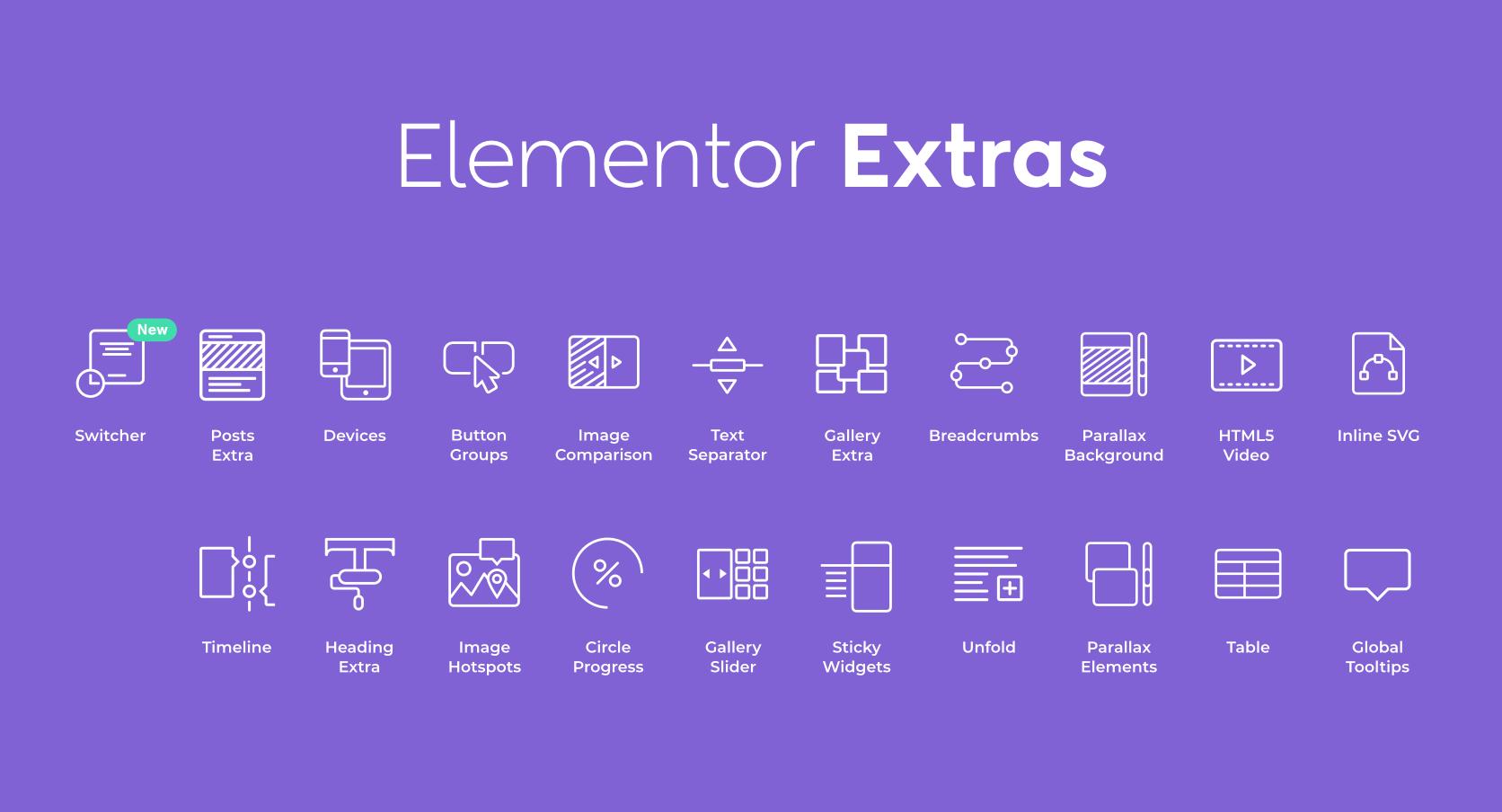 Elementor Extras v2.2.39 – Do more with Elementor