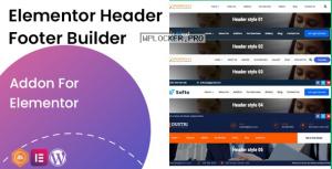 Elementor Header Footer Builder v1.0.2 – Addon
