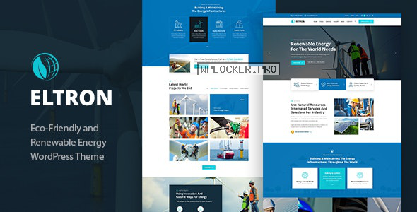 Eltron v1.2 – Solar Energy WordPress Theme