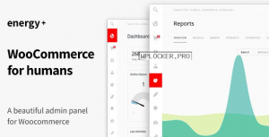 Energy+ v1.2.4 – A beautiful admin panel for WooCommerce