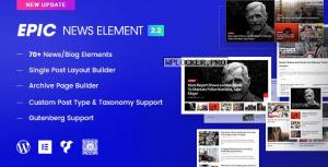 Epic News Elements v2.2.9