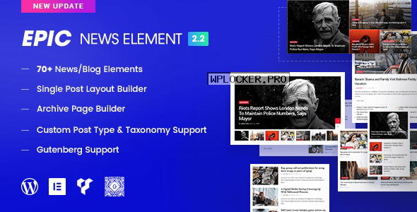 Epic News Elements v2.2.9