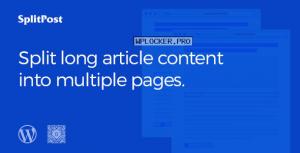 Epic Split Post v1.0.6 – Post Content Splitter as Slider