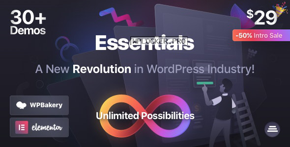 Essentials v1.0.0 – Multipurpose WordPress Theme