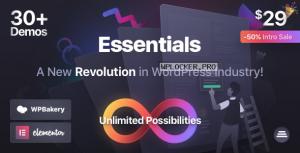 Essentials v1.0.3 – Multipurpose WordPress Theme