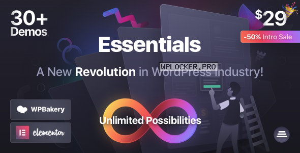 Essentials v1.0.3 – Multipurpose WordPress Theme