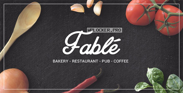 Fable v1.2.4 – Restaurant Bakery Cafe Pub WordPress Theme