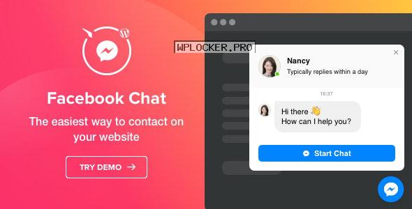 Facebook Chat v1.2.0 – WordPress Facebook Chat plugin
