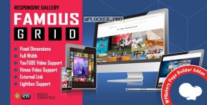 Famous v1.0.3 – Responsive Image & Video Grid Gallery for WPBakery Page Builder