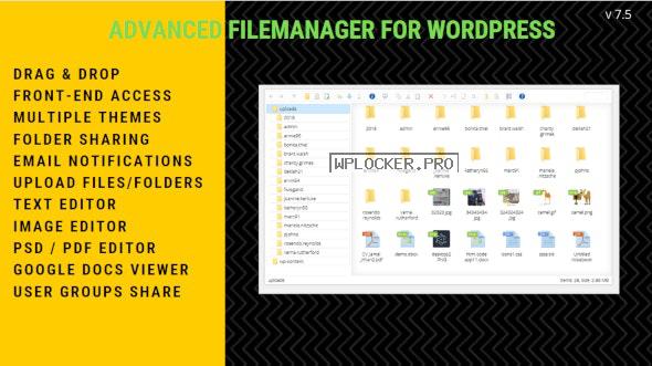 File Manager Plugin For WordPress v7.5.2