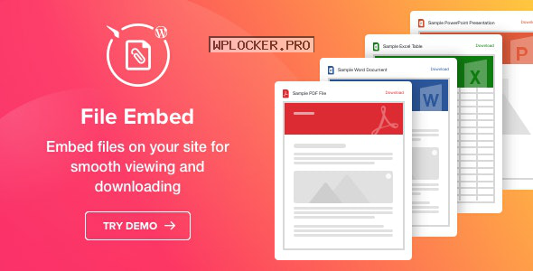 File Viewer v1.1.0 – WordPress File Embed plugin