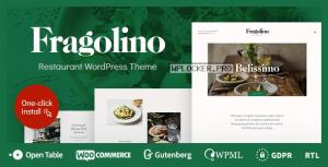 Fragolino v1.0.3 – an Exquisite Restaurant WordPress Theme