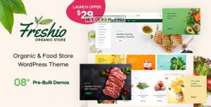 Freshio v1.0.0 – Organic & Food Store WordPress Theme