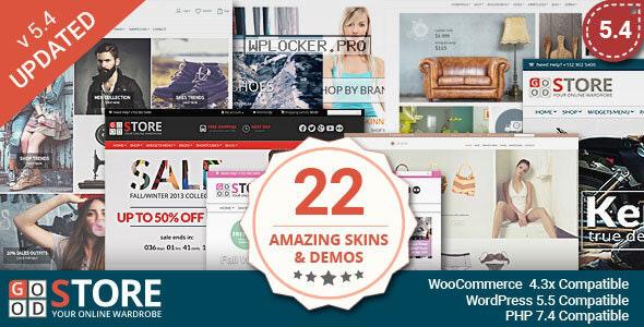 GoodStore v5.4 – WooCommerce Theme