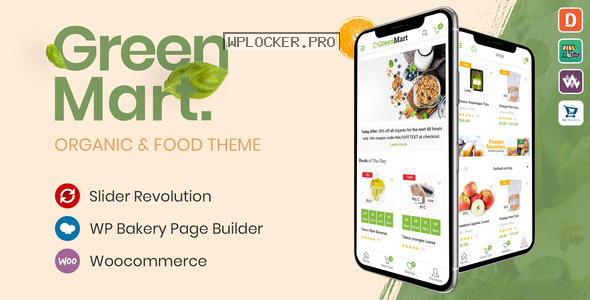 GreenMart v2.5.0 – Organic & Food WooCommerce WordPress Theme