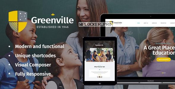 Greenville v1.3.3 – A Private School WordPress Theme