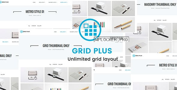 Grid Plus v2.9 – Unlimited Grid Layout