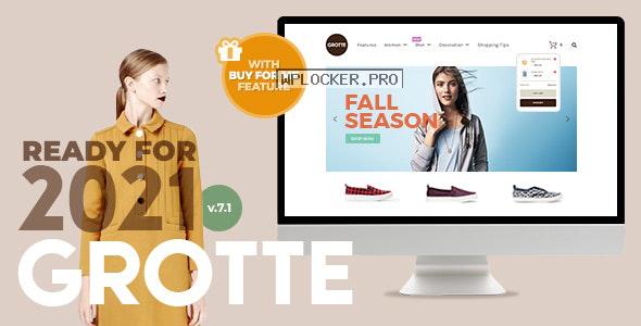 Grotte v7.1 – A Dedicated WooCommerce Theme