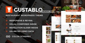 Gustablo v1.10 – Restaurant & Cafe Responsive Theme