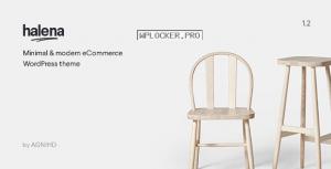 Halena v1.5.6.1 – Minimal & Modern eCommerce WordPress Theme