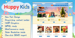 Happy Kids v3.5.2 – Children WordPress Theme