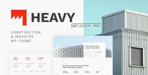 Heavy v1.0.2 – Industrial WordPress Theme
