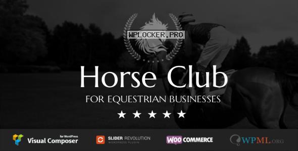 Horse Club v2.3 – Equestrian WordPress Theme