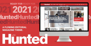 Hunted v7.1 – A Flowing Editorial Magazine Theme