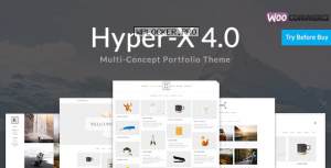 HyperX v4.9.5 – Portfolio for Freelancers & Agencies