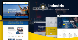 Industris v1.0.6 – Factory & Business WordPress Theme