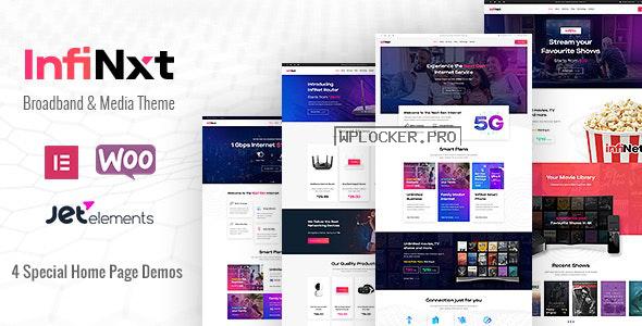 InfiNxt v1.5 – Satellite TV, Internet Service Provider WordPress Theme