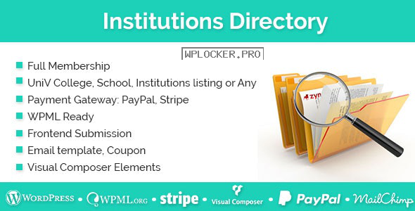 Institutions Directory v1.2.4